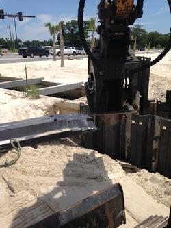 Carbon Fiber Sheet Piling for Drainage Ditch Retaining Wall